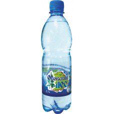 Вода натуральная газированная 0,5 л