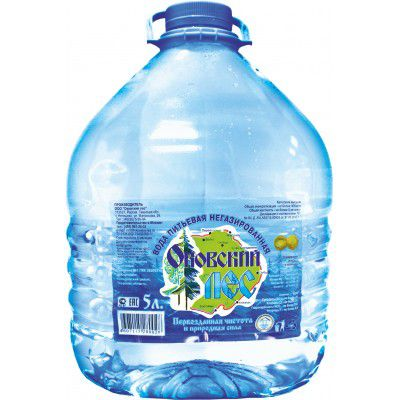 Вода натуральная негазированная 5 л